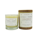 Patchouli + Rosewood Candle