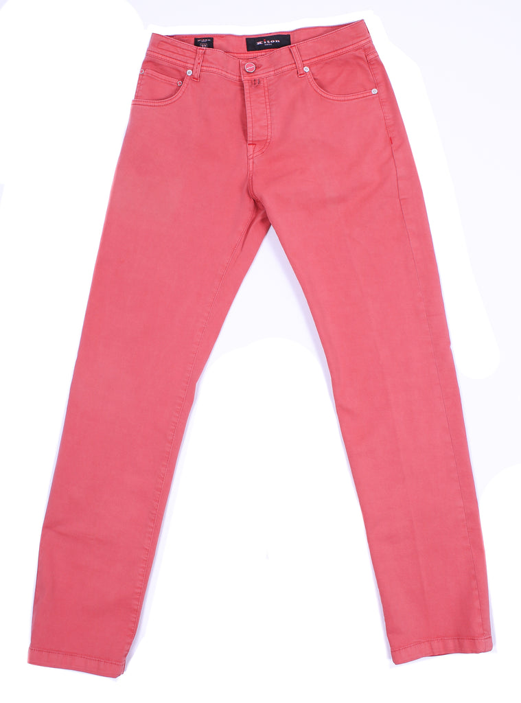 Casual Five-Pocket Pants