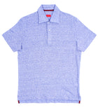Linen Short-Sleeve Polo Shirt
