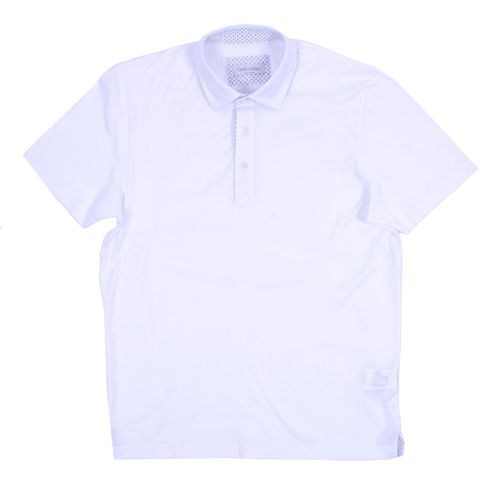 Oxford Mercerized Cotton Polo