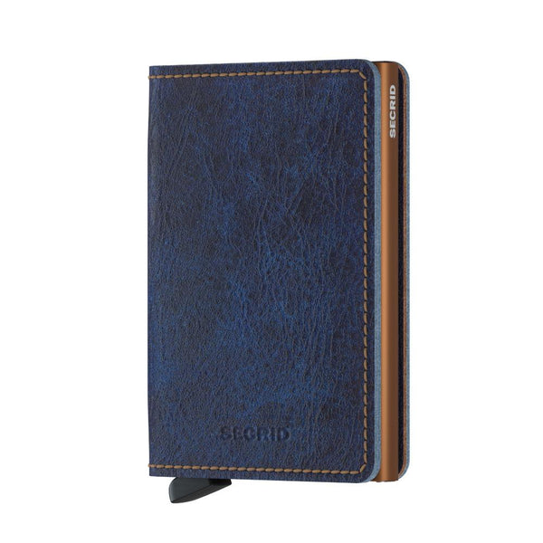 Slim Indigo 5 Wallet