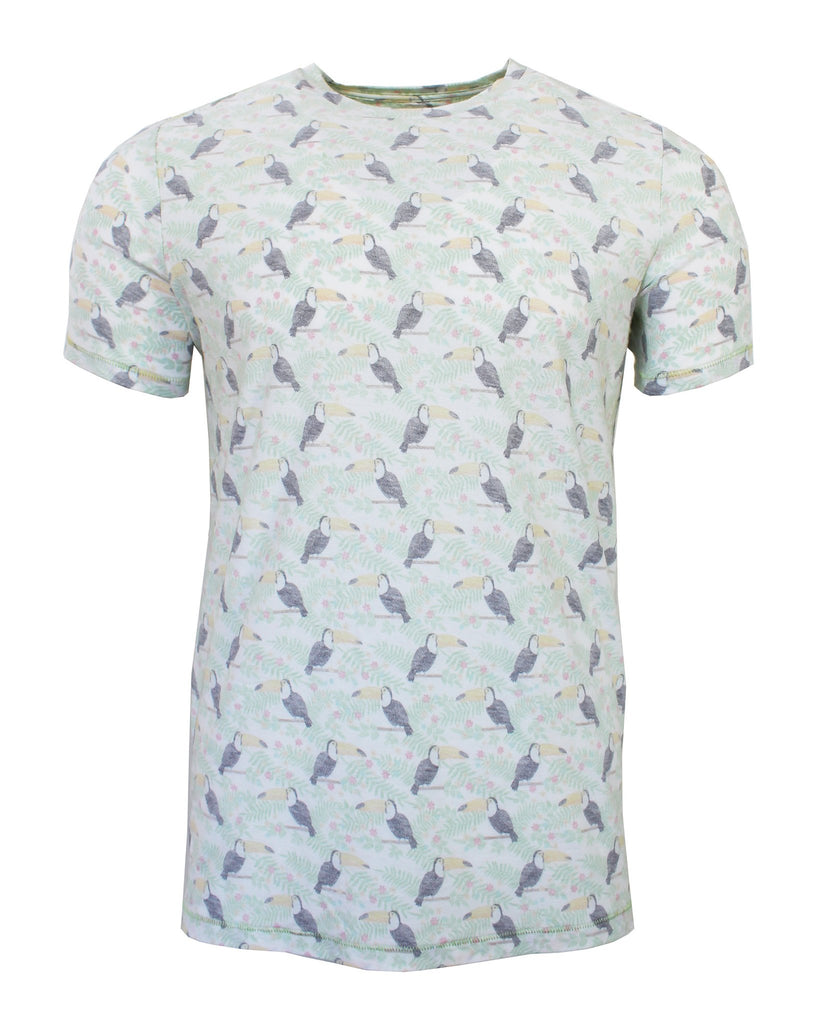 Patterned Print T-Shirt