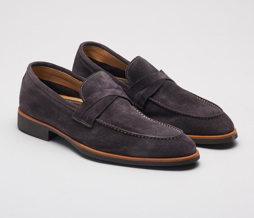 SPQR Velour Lavagna Loafer