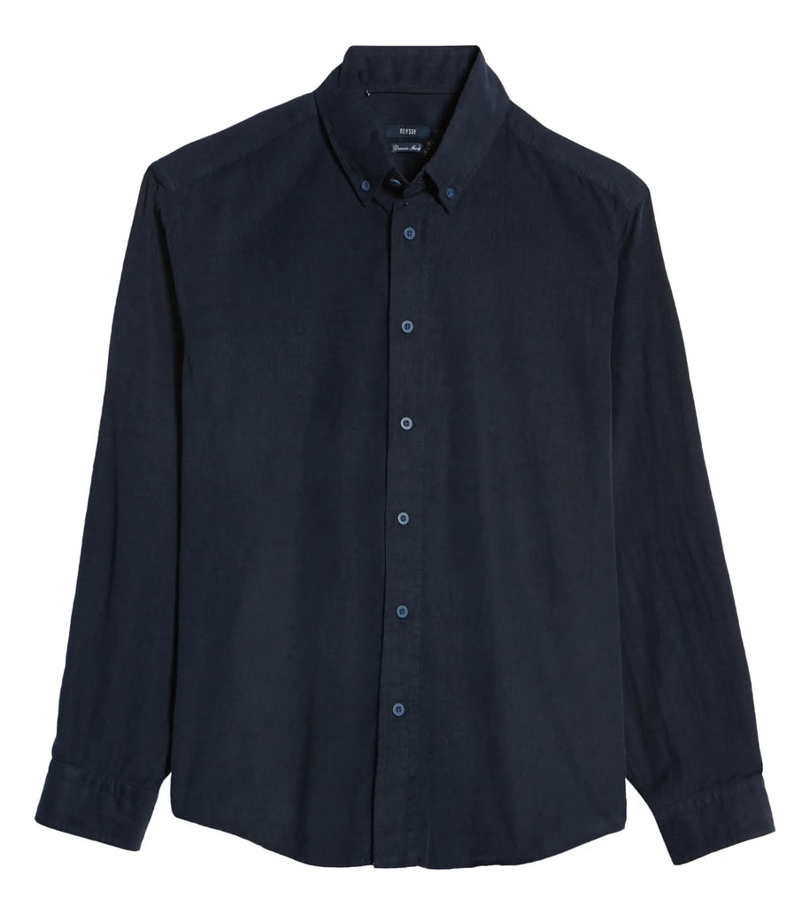 Corduroy Button-Down Shirt