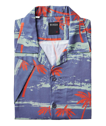 Palm Trees Print Shirt