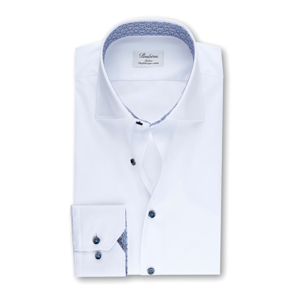 Slimline Body - White w/Contrast Shirt