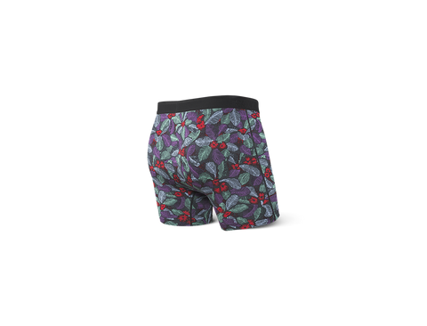 Platinum Boxer Brief Skattered Leaf