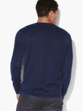 Long Sleeve Acid Wash Crewneck