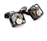 Square Gear Cufflinks