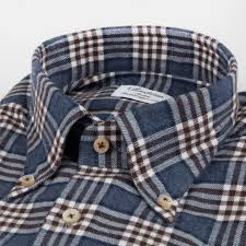 Slimline Body - Checked Flannel Shirt