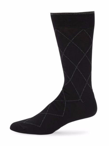 Diamond Pattern Socks
