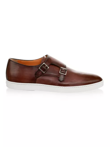 Freemont Monk Strap Leather Sneaker