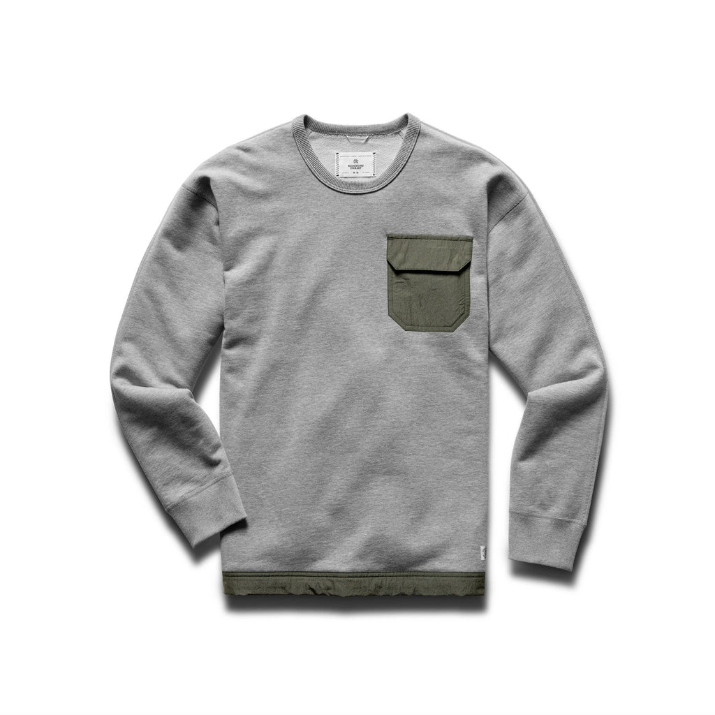 Relaxed Crewneck Sweater
