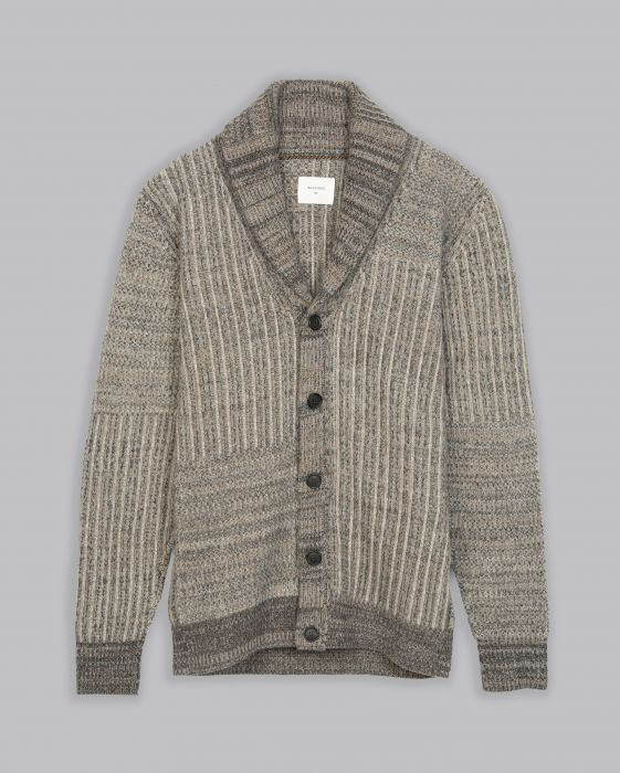 Patch Ribbon Cardigan