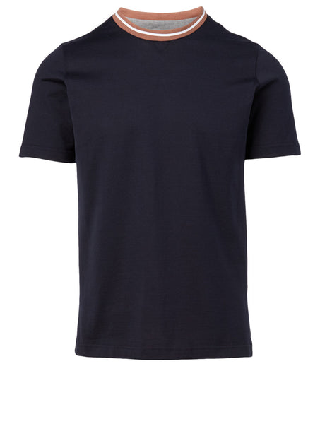 Contrast Collar T-Shirt