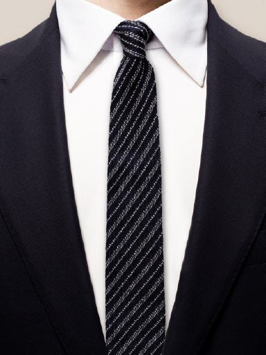 Knitted Stripes Tie