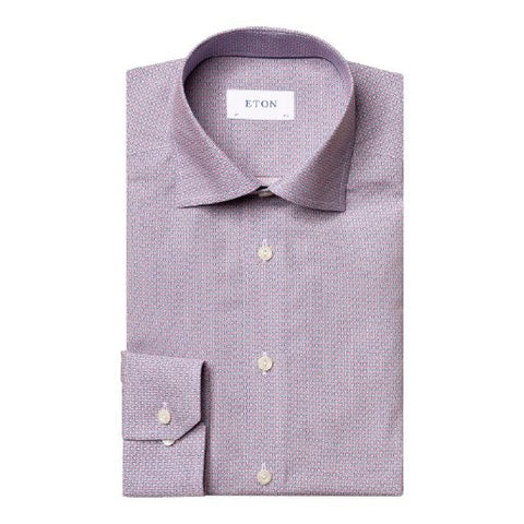 Contemporary Fit - Micro Print Shirt