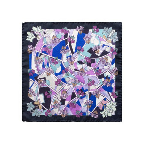 Art Deco Print Pocket Square