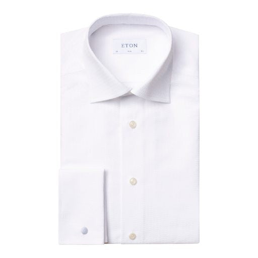 Slim Fit - Dobby Pattern Shirt