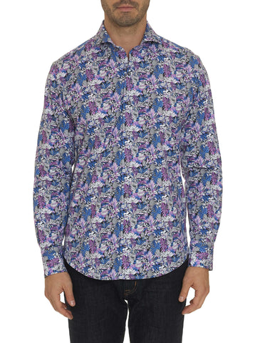 'Palm Jungle' Sport Shirt