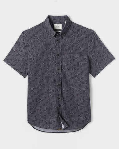 Urchin Print Short Sleeve Shirt