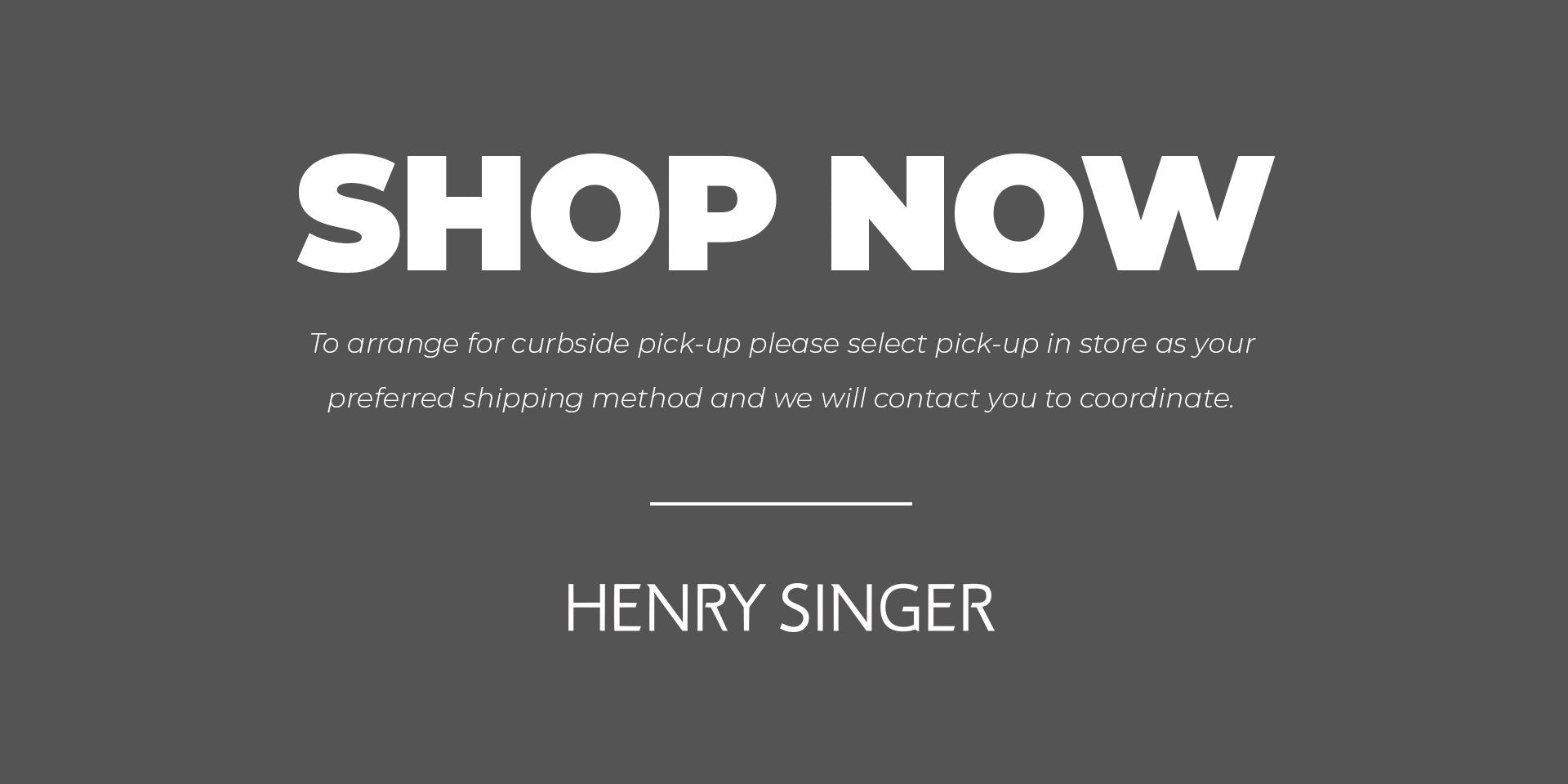 240ec6a3534 Henry Singer | Luxury Men's Suits & Clothing Since 1938