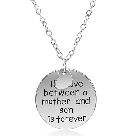 Love Between a Mother and A Son Necklace