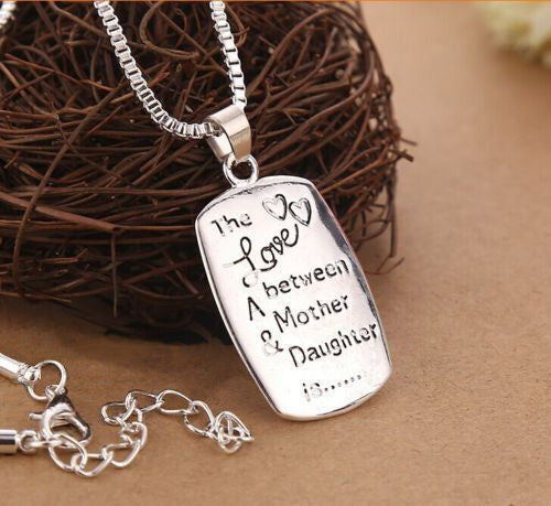 Mother Daughter Love Necklace