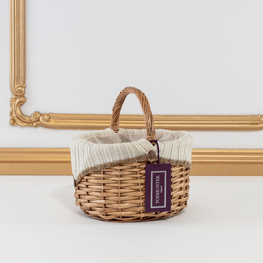 The Adorable Wool Lined Basket