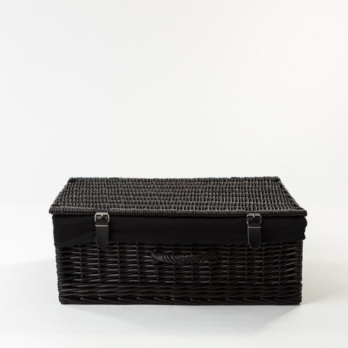 Todhunter - The Oxford Black Hamper with Liner