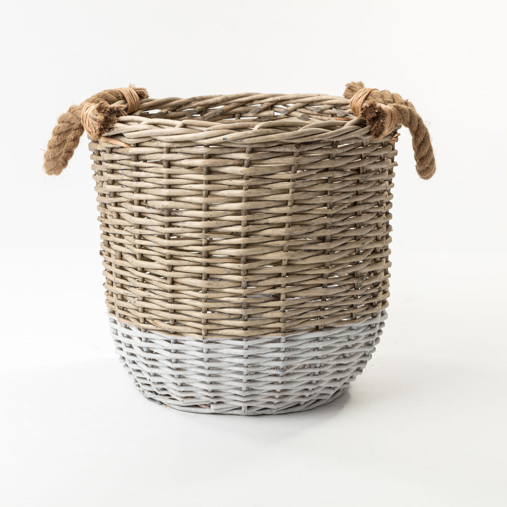 The St Ives Dip Dyed Basket Medium