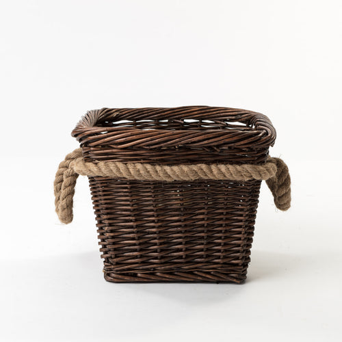 Todhunter - The Henley Basket with Rope Handles