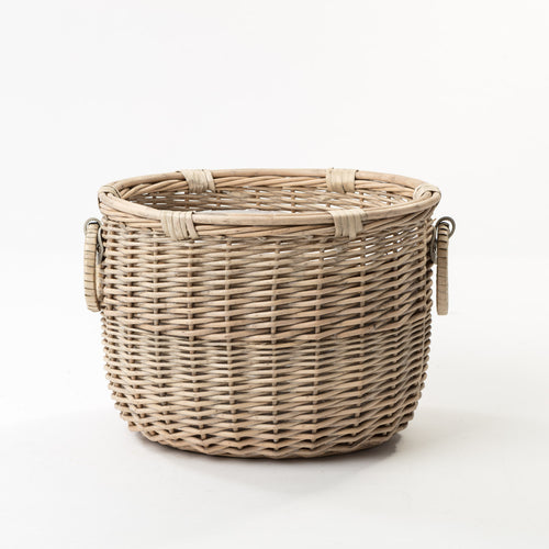 Todhunter - The Chancery Basket with Beautiful Handle Detail