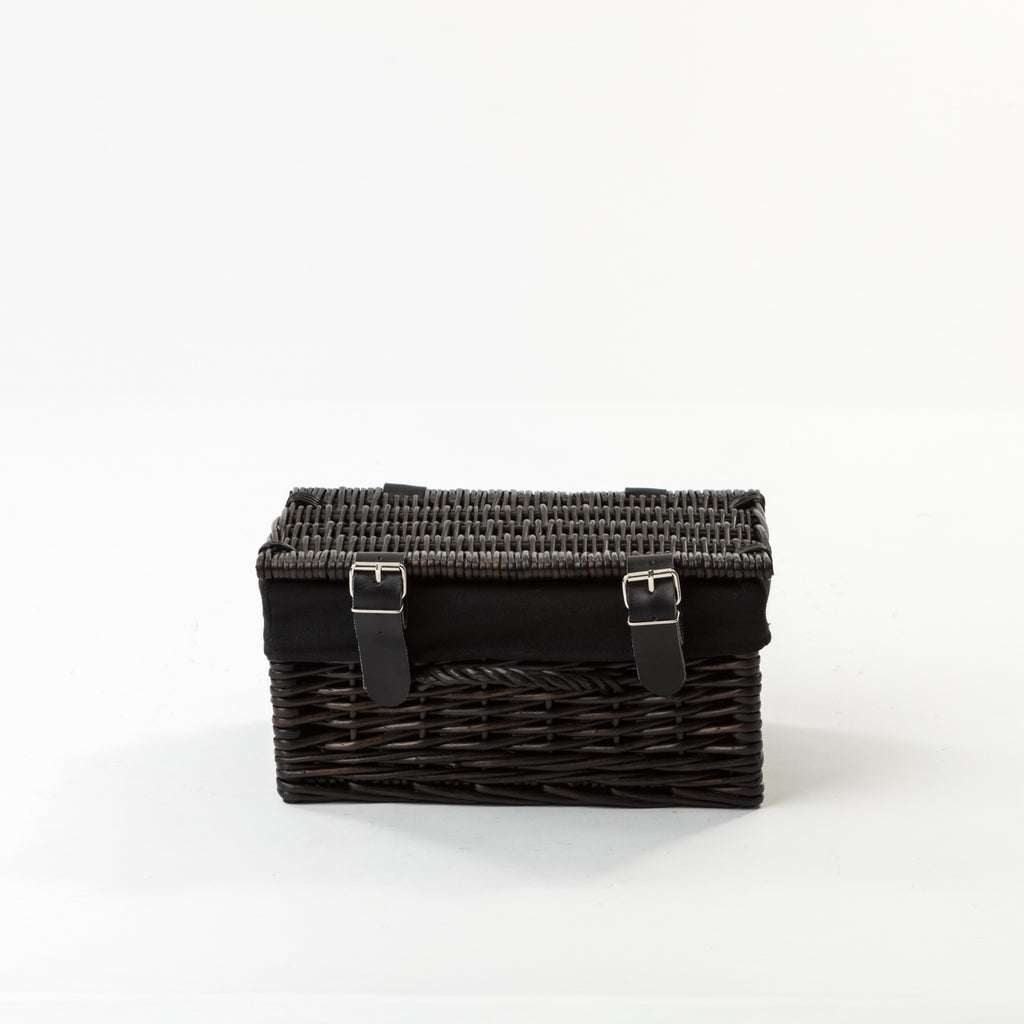 The Adorable Black Hamper with Liner Small