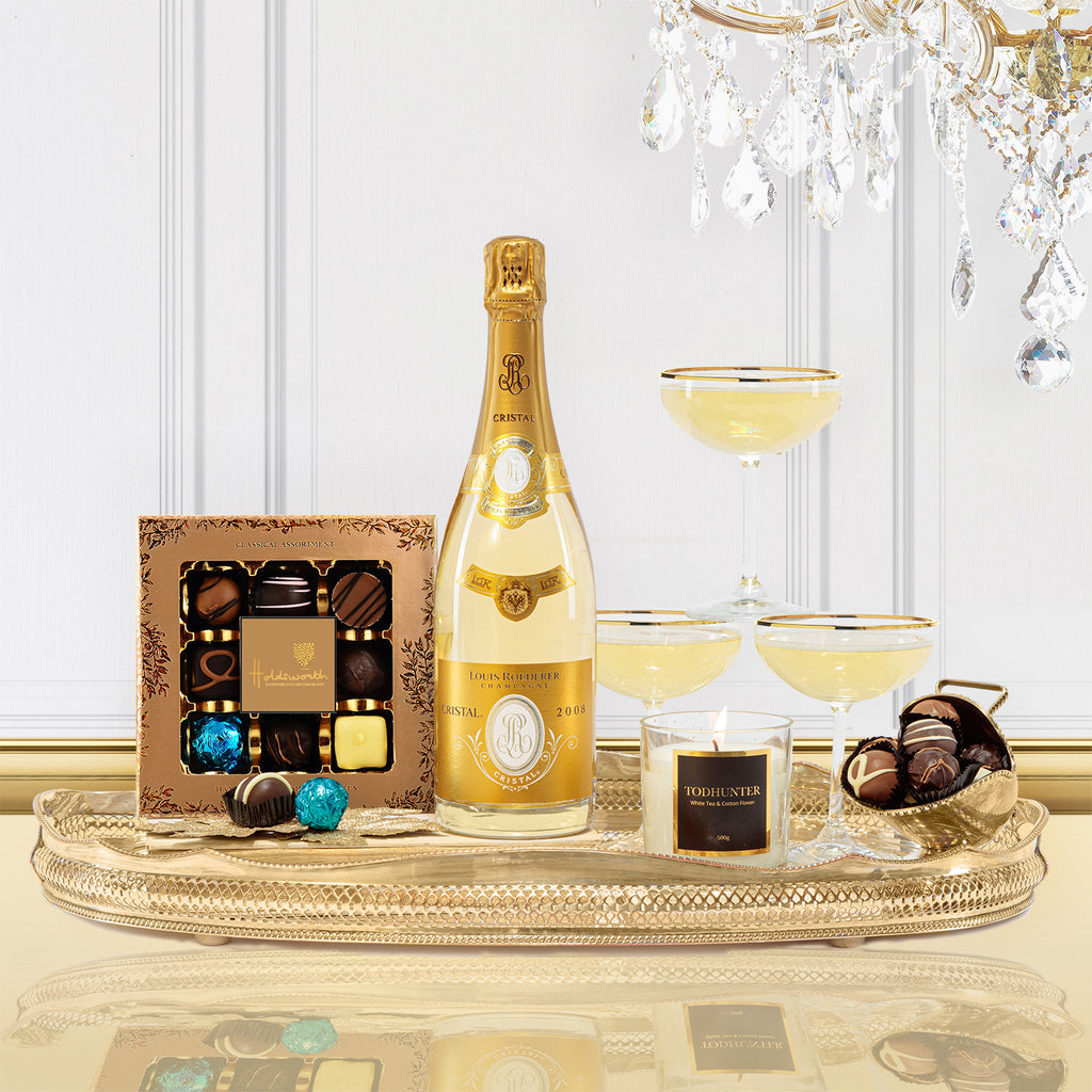 Luxury Cristal Champagne Gift Box