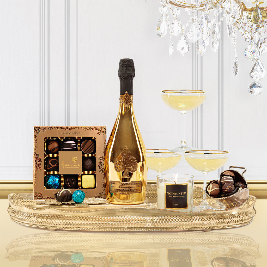 Luxury Ace of Spades Champagne Gift Box