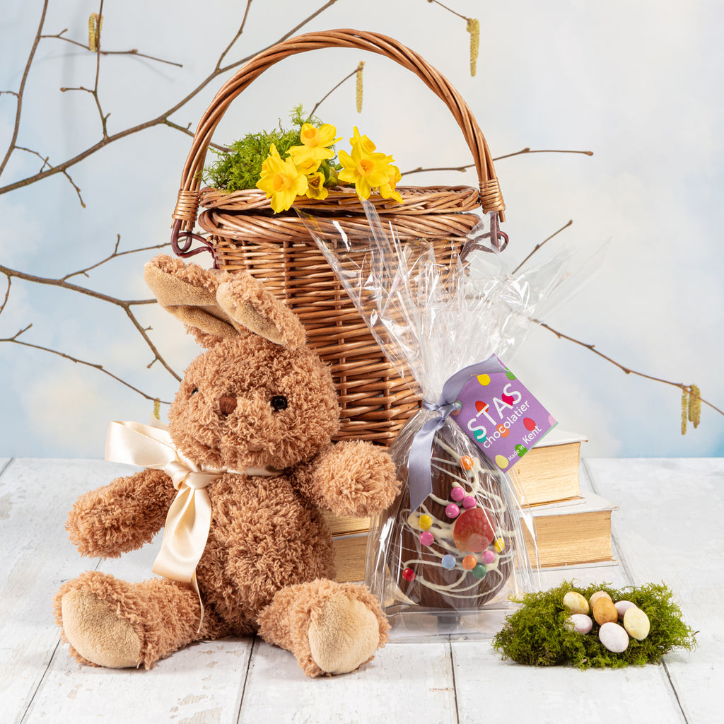 The Eggcellent Easter Bunny Basket