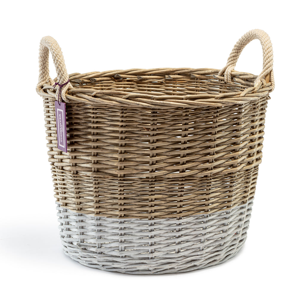 The St Ives Dip Dyed Basket Large