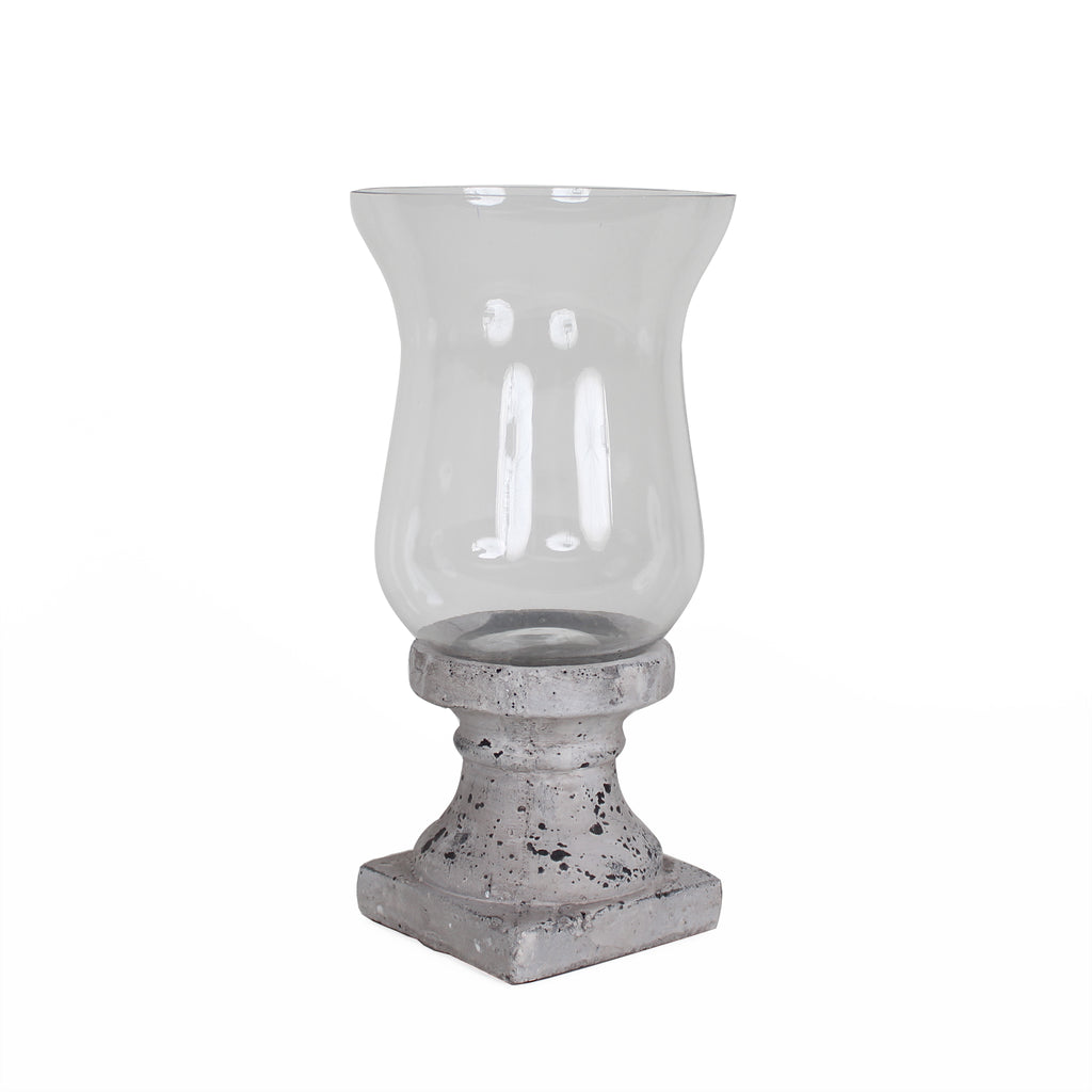 Classical Stone Hurricane Lamp