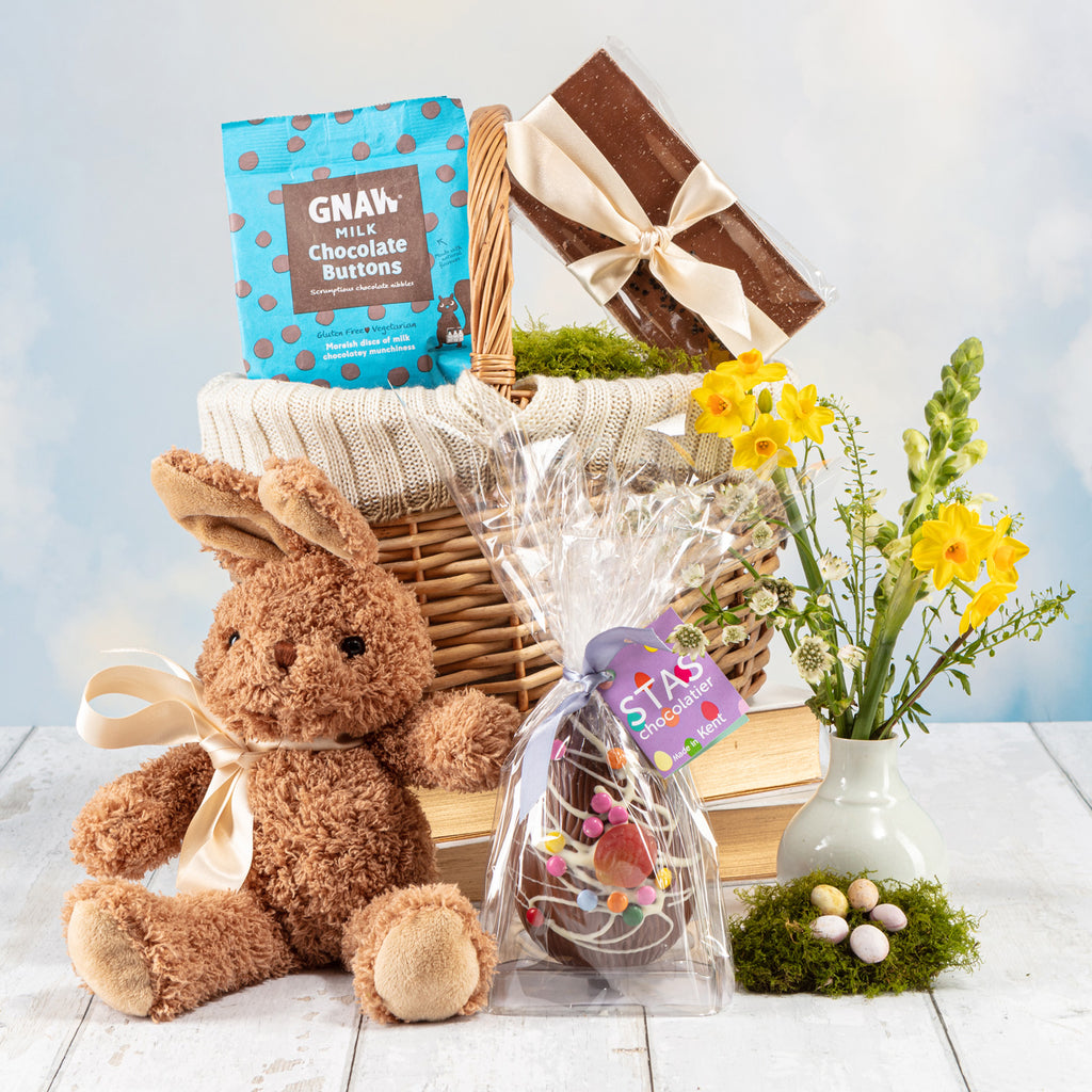 The Hoppy Easter Bunny Basket