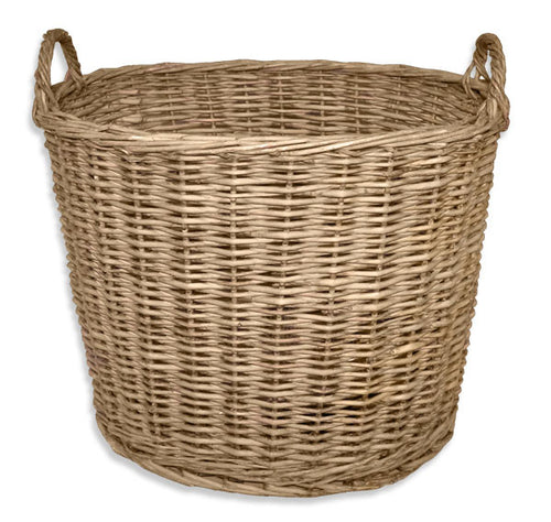 Todhunter Large Willow Basket with Handles