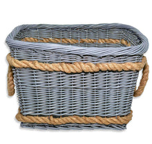 Todhunter Large Wicker Basket with Rope
