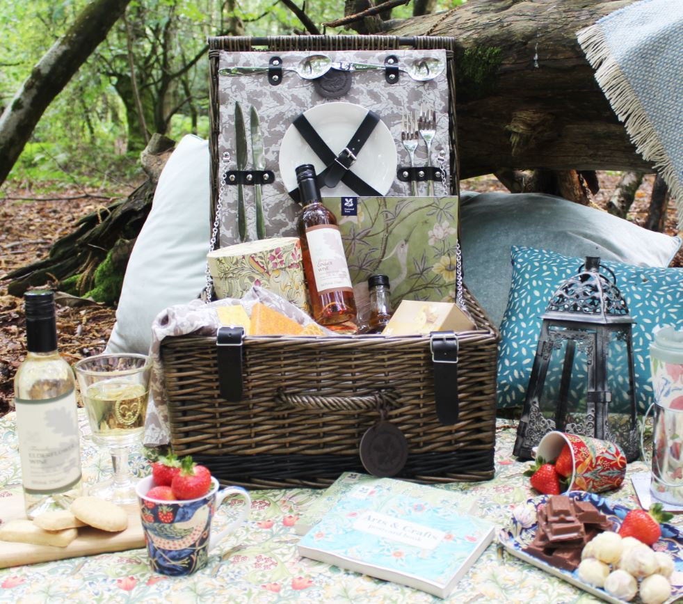 Todhunter for the National Trust - The Perfect Place Picnic Hamper