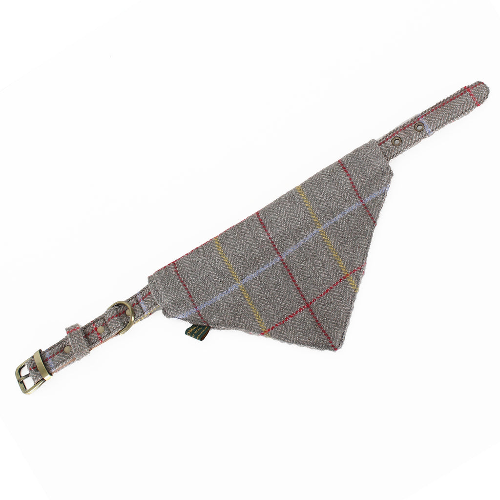 Ted Hunter Collection Neckerchief and Collar - Tweed