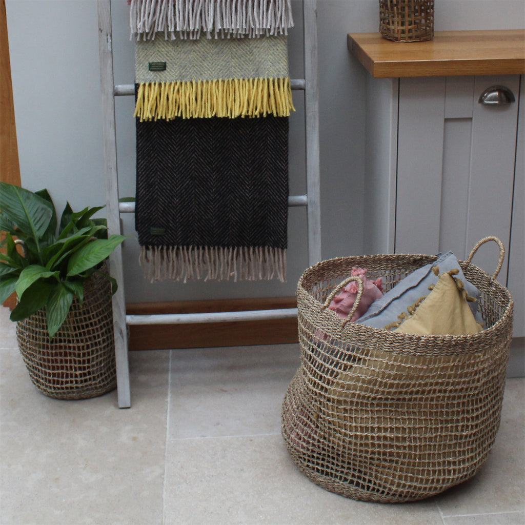 Sherborne Seagrass Baskets Trio