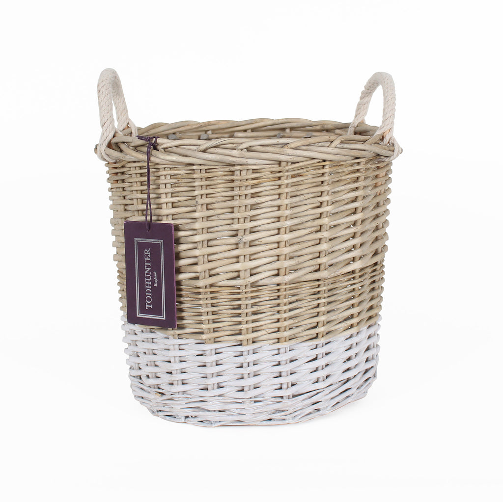 The St Ives Dip Dyed Basket Small