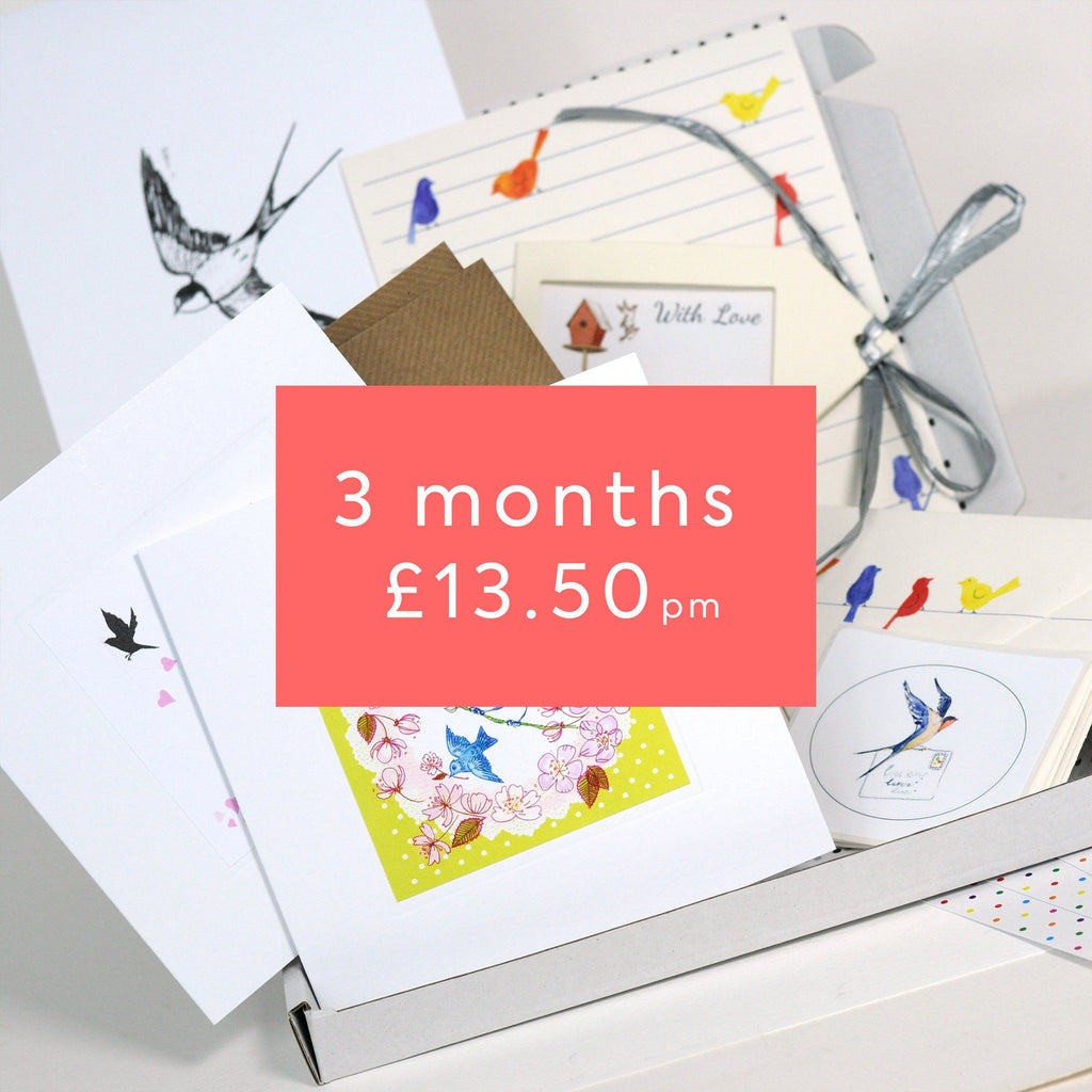 Stationery Lovers 3 Months + free gift