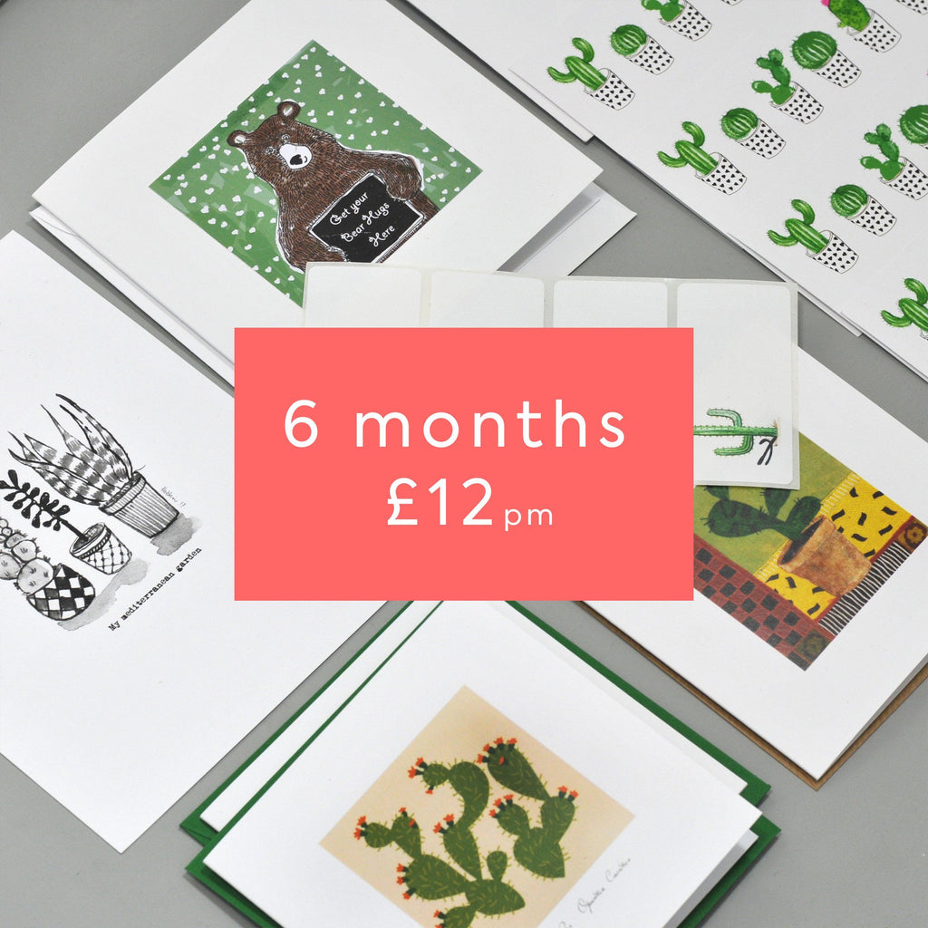 Stationery Lovers 6 Months + free gift
