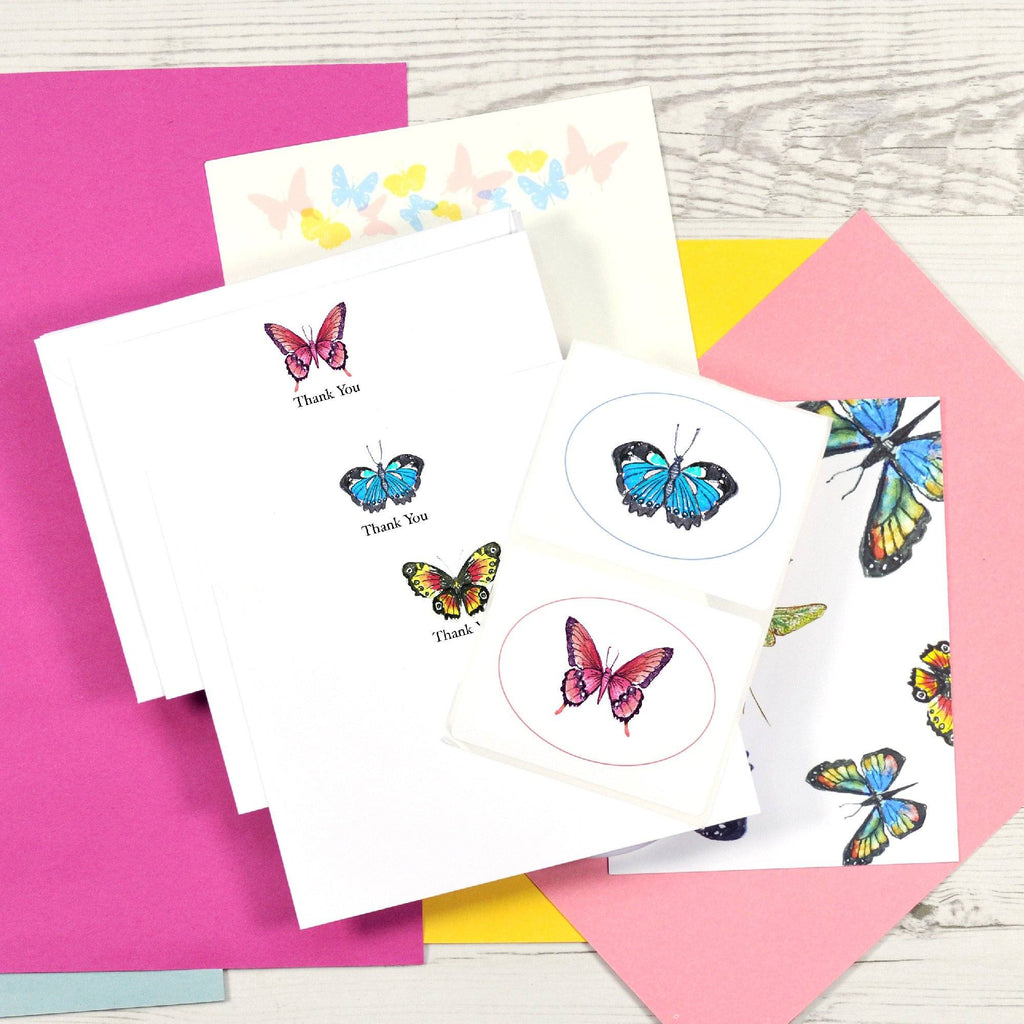 Butterfly Stationery - Single Post Box