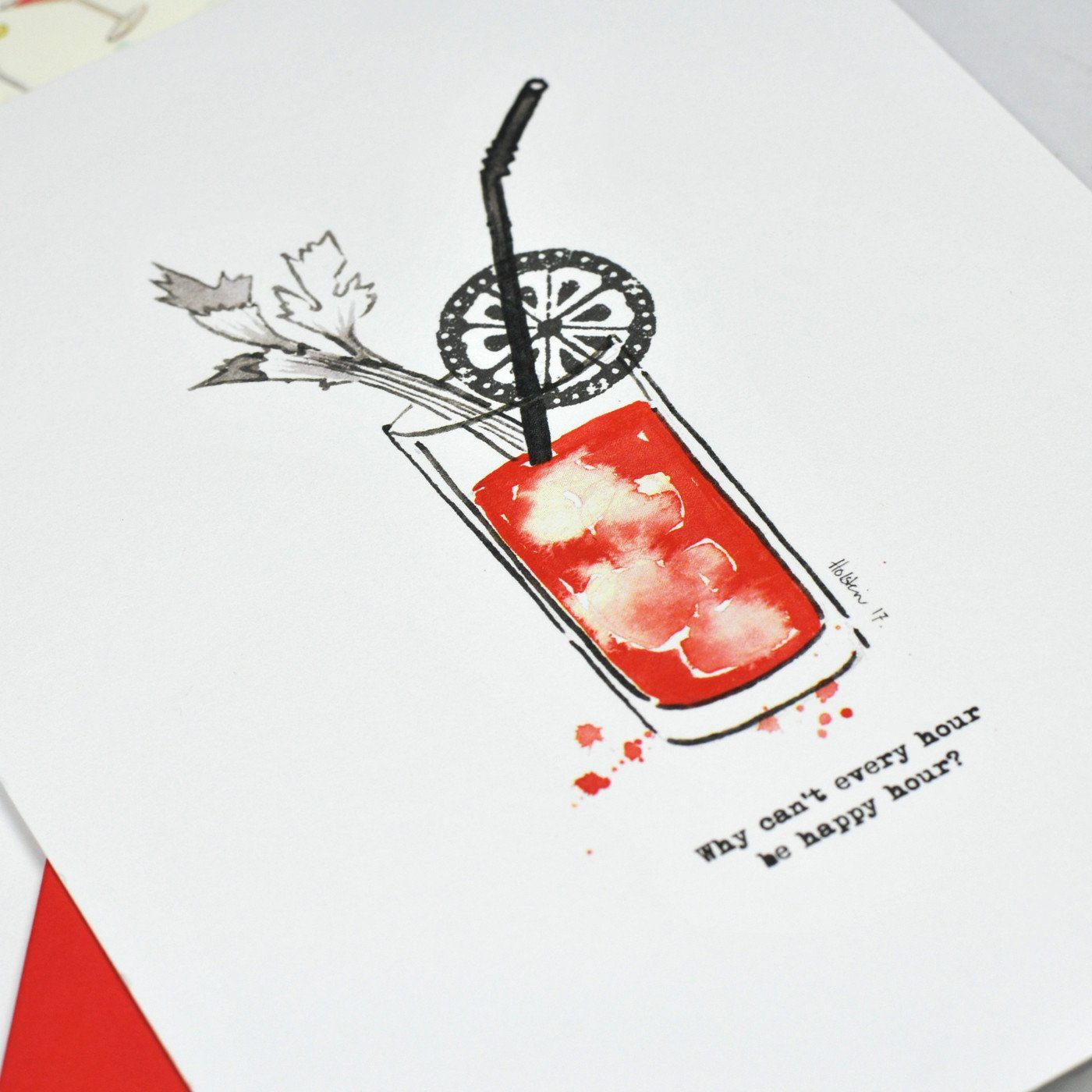 Stationery Subscription Box Cocktails Party